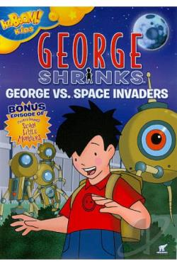George Shrinks, Vol. 3: George vs. Space Invaders DVD Cover Art
