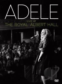 Adele: Live at the Royal Albert Hall DVD Cover Art
