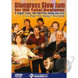 Bluegrass Slow Jam For The Total Beginner DVD Cover Art