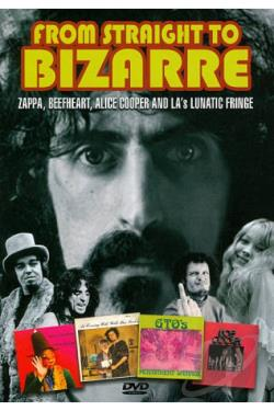 Frank Zappa: From Straight to Bizarre DVD Cover Art
