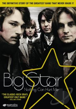 Big Star: Nothing Can Hurt Me DVD Cover Art