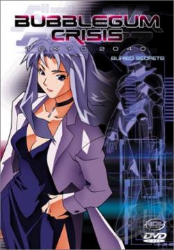 Bubblegum Crisis: Tokyo 2040 - DVD Vol. 4: Buried Secrets DVD Cover Art