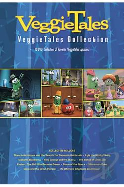 VeggieTales - 10 Ct. Collection #1 DVD Cover Art