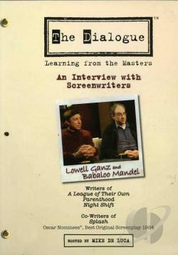 Dialogue - Lowell Ganz and Babaloo Mandel DVD Cover Art