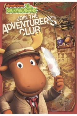Backyardigans: Join the Adventurers Club DVD Cover Art