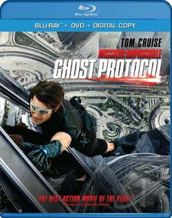 Mission: Impossible - Ghost Protocol BRAY Cover Art