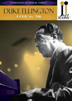 Duke Ellington - Jazz Icons DVD Cover Art