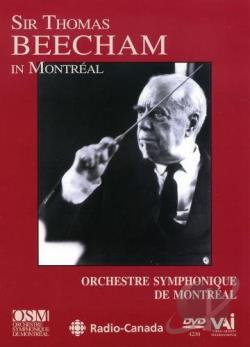 Sir Thomas Beecham in Montreal DVD Cover Art