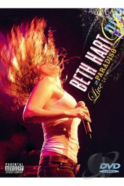 Beth Hart - Live At The Paradiso DVD Cover Art