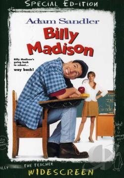 Billy Madison DVD Cover Art