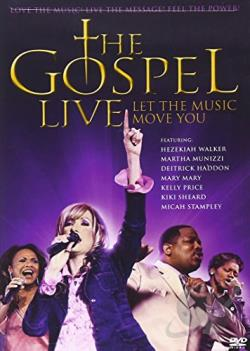 Gospel Live: Let the Music Move You DVD Cover Art