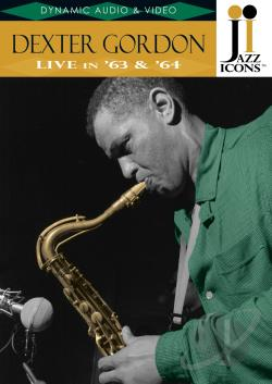 Dexter Gordon - Jazz Icons DVD Cover Art