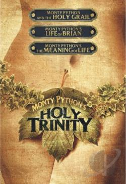 Monty Python And The Holy Grail/Life Of Brian/Meaning Of Life DVD Cover Art