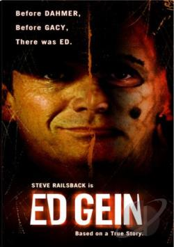 Ed Gein DVD Cover Art