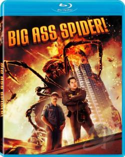 Big Ass Spider! BRAY Cover Art
