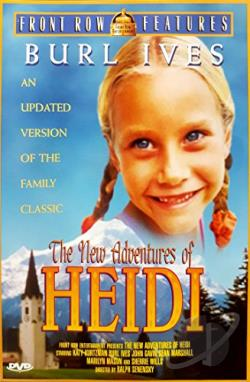 New Adventures Of Heidi DVD Cover Art