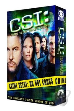 CSI: Crime Scene Investigation - The Complete Fourth Season DVD Cover Art