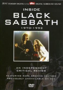 Inside Black Sabbath - 1970-1992 DVD Cover Art