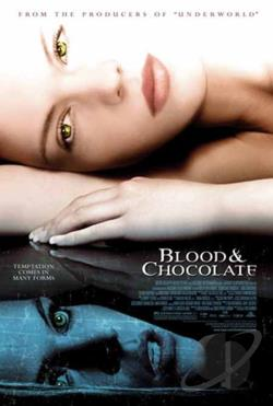 Blood and Chocolate DVD Cover Art