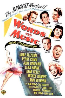 Words and Music DVD Cover Art