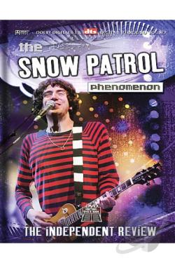 Snow Patrol - Phenomenon DVD Cover Art