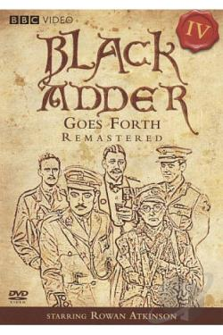 Black Adder Goes Forth DVD Cover Art