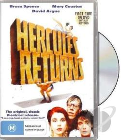 Hercules Returns DVD Cover Art