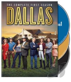 Dallas - The Complete First Season DVD Cover Art