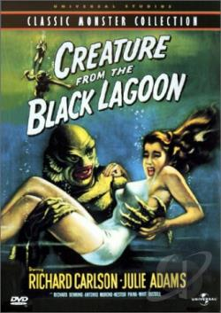 Creature from the Black Lagoon DVD Cover Art