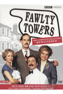 Fawlty Towers - The Complete Collection DVD Cover Art