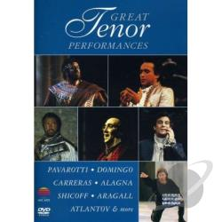 Great Tenor Performances DVD Cover Art