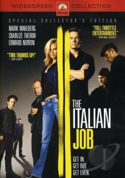 Italian Job DVD Cover Art