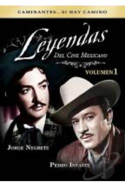 Leyendas del Cine Mexicano Volumen 1 DVD Cover Art