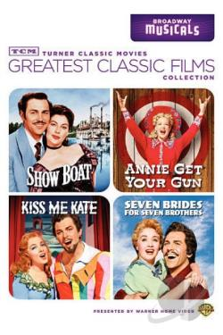 TCM Greatest Classic Films - Broadway Musicals DVD Cover Art