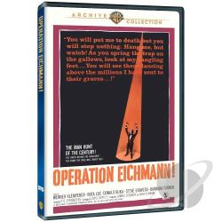 Operation Eichmann DVD Cover Art
