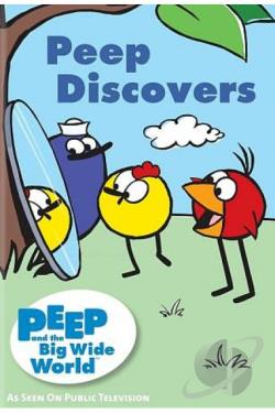 Peep and the Big Wide World: Peep Discovers DVD Cover Art