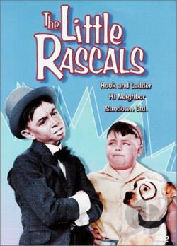 Little Rascals - Hook And Ladder/ Hi Neighbor/ Sundown LTD. DVD Cover Art