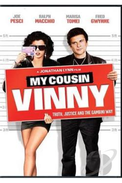 My Cousin Vinny DVD Cover Art