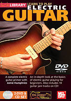 Jamie Humphries: Learn to Play Electric Guitar DVD Cover Art