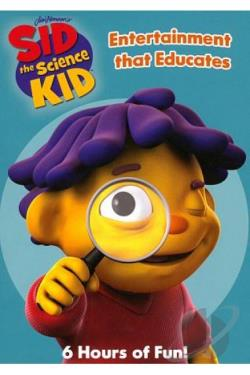 Sid the Science Kid: Weather Kid Sid/The Ruler of Thumb/Gizmos and Gadgets DVD Cover Art
