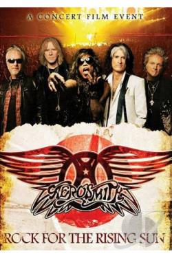 Aerosmith: Rock for the Rising Sun DVD Cover Art