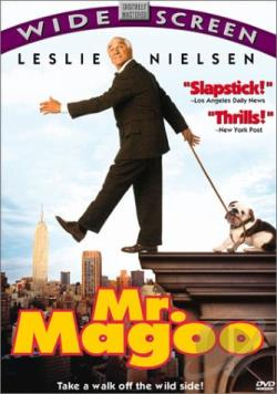 Mr. Magoo DVD Cover Art