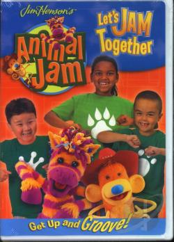 Jim Henson's Animal Jam: Let's Jam Together DVD Cover Art