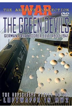 Green Devils 1933-1941 DVD Cover Art