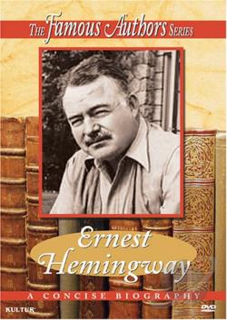 Famous Authors Series - Ernest Hemingway DVD Cover Art