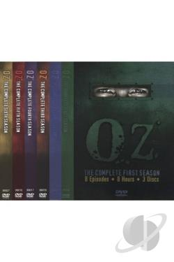 Oz - The Complete Seasons 1-6 DVD Cover Art