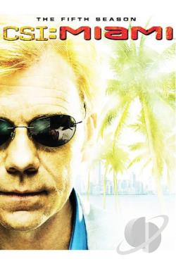CSI: Miami - The Complete Fifth Season DVD Cover Art