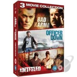 Crime Triple (Bad Karma/The Entitled/Officer Down) DVD Cover Art