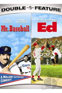 Mr. Baseball/Ed DVD Cover Art