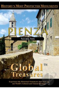 Global Treasures Pienza Tuscany , Italy DVD Cover Art